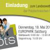 Karriereforum Lehre: Landeswettbewerb der Polytechnischen Schulen Salzburgs